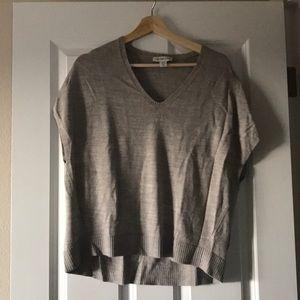 Coldwater Creek cap sleeve sweater